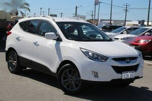 2014 Hyundai ix35 White Sports Automatic Wagon St James Victoria Park Area Preview