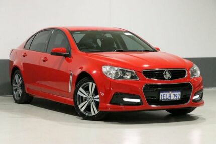 2013 Holden Commodore VF SV6 Red 6 Speed Automatic Sedan Bentley Canning Area Preview