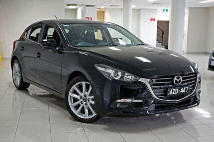 2018 Mazda 3 BN5438 SP25 SKYACTIV-Drive Jet Black 6 Speed Sports Automatic Hatchback South Melbourne Port Phillip Preview