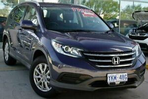 2013 Honda CR-V RM VTi 4WD Twilight Blue 5 Speed Automatic Wagon