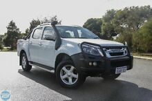 2015 Isuzu D-MAX MY15 LS-Terrain Crew Cab Splash White 5 Speed Sports Automatic Utility Hillman Rockingham Area Preview