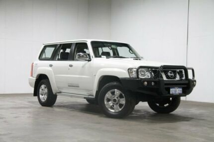 2015 Nissan Patrol Y61 GU 9 ST White 4 Speed Automatic Wagon Welshpool Canning Area Preview