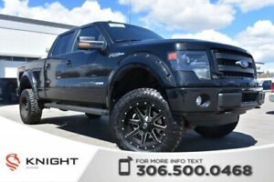 2014 Ford F-150 FX4 | Navigation | Suroof | 4.5 Lift |