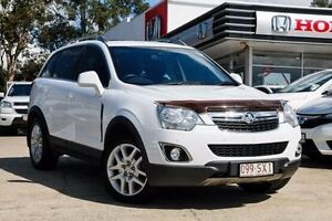 2012 Holden Captiva CG Series II MY12 5 AWD White 6 Speed Sports Automatic Wagon Noosaville Noosa Area Preview