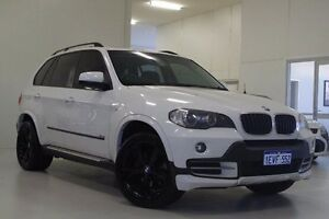 2008 BMW X5 E70 si Steptronic White 6 Speed Sports Automatic Wagon Myaree Melville Area Preview