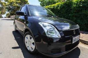 2005 Suzuki Swift RS415 S Black 5 Speed Manual Hatchback Hove Holdfast Bay Preview