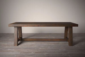 CHUNKY, SOLID WOOD TABLE.. SHOWROOM CLEARANCE