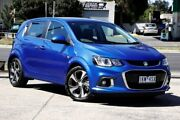 2017 Holden Barina TM MY17 LT Blue 6 Speed Automatic Hatchback Braybrook Maribyrnong Area Preview
