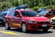 2012 Mitsubishi Lancer CJ MY12 ES Sportback Red 6 Speed Constant Variable Hatchback Ringwood East Maroondah Area Preview
