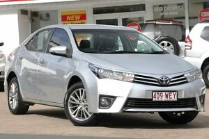 2016 Toyota Corolla ZRE172R ZR S-CVT Silver 7 Speed Constant Variable Sedan Woolloongabba Brisbane South West Preview