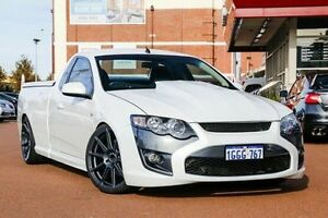 2012 Ford Falcon FG MkII XR6 Ute Super Cab Turbo White 6 Speed Manual Utility Fremantle Fremantle Area Preview
