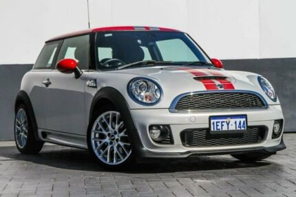 2013 Mini Hatch R56 LCI Cooper S Steptronic Grey 6 Speed Sports Automatic Hatchback Maddington Gosnells Area Preview