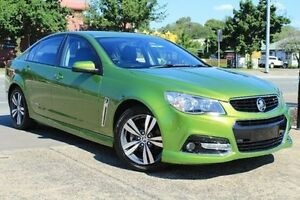 2015 Holden Commodore VF MY15 SV6 Green 6 Speed Sports Automatic Sedan Berwick Casey Area Preview