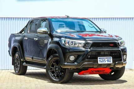 2017 Toyota Hilux GUN126R SR5 Double Cab Black 6 Speed Sports Automatic Utility Morley Bayswater Area Preview