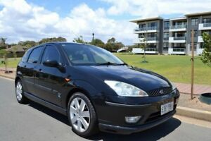 2004 Ford Focus LR MY2003 Zetec Black 4 Speed Automatic Hatchback