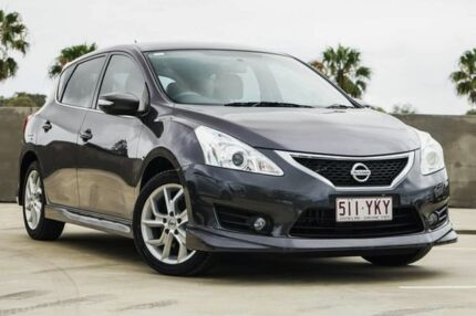 2015 Nissan Pulsar C12 Series 2 SSS Grey 6 Speed Manual Hatchback Aspley Brisbane North East Preview