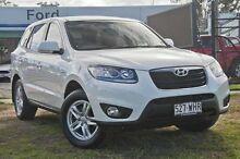 2011 Hyundai Santa Fe CM SLX White Automatic Wagon Capalaba West Brisbane South East Preview