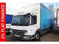 2012 Mercedes-Benz Atego 815 DAY Diesel white Manual