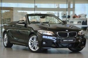 2016 BMW 220i F23 M Sport Black 8 Speed Sports Automatic Convertible Wangara Wanneroo Area Preview