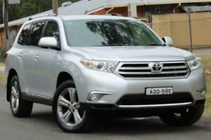 2011 Toyota Kluger GSU45R MY11 KX-S AWD Silver 5 Speed Sports Automatic Wagon Lansvale Liverpool Area Preview