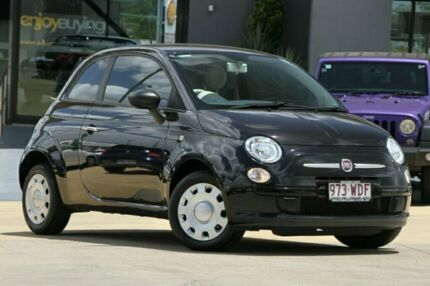 2015 Fiat 500 Series 3 POP Black/Grey 5 Speed Manual Hatchback Moorooka Brisbane South West Preview