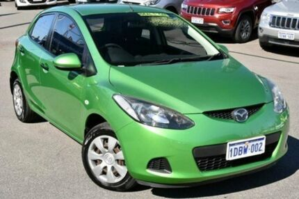 2007 Mazda 2 DY10Y2 Neo Green 4 Speed Automatic Hatchback Myaree Melville Area Preview