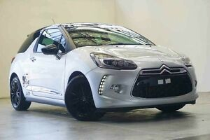 2016 Citroen DS3 MY15 Dsport Silver/Black Roof 6 Speed Manual Hatchback Osborne Park Stirling Area Preview