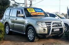 2007 Mitsubishi Pajero NS Exceed Bronze 5 Speed Sports Automatic Wagon Ferntree Gully Knox Area Preview
