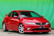 2008 Honda Civic 8th Gen MY07 Type R Red 6 Speed Manual Hatchback Ringwood East Maroondah Area Preview