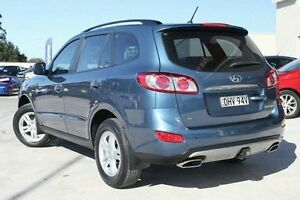 2011 Hyundai Santa Fe CM MY10 Elite Blue 6 Speed Sports Automatic Wagon Pennant Hills Hornsby Area Preview