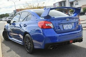 2015 Subaru WRX V1 MY16 STI AWD WR Blue Mica 6 Speed Manual Sedan Willagee Melville Area Preview