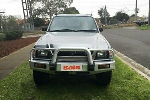 2002 Toyota Hilux VZN172R (4x4) Grey 5 Speed Manual Extracab Melbourne CBD Melbourne City Preview