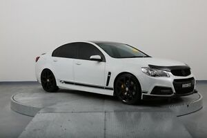 2013 Holden Commodore VF MY14 SV6 White 6 Speed Sports Automatic Sedan Old Guildford Fairfield Area Preview