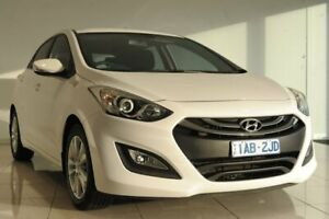 2013 Hyundai i30 GD MY14 Elite White 6 Speed Sports Automatic Hatchback Strathmore Heights Moonee Valley Preview