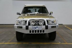 2010 Nissan Patrol GU 7 MY10 ST Gold 4 Speed Automatic Wagon