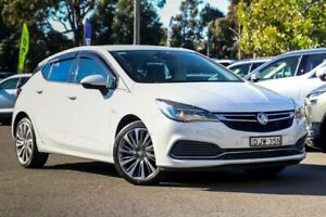2016 Holden Astra BK MY17 RS-V White 6 Speed Manual Hatchback Kirrawee Sutherland Area Preview