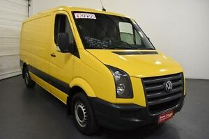 2009 Volkswagen Crafter 2EF1 MY09 35 MWB Yellow Sports Automatic Van Moorabbin Kingston Area Preview