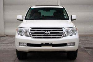 2009 Toyota Landcruiser VDJ200R MY10 Sahara White 6 Speed Sports Automatic Wagon Seaford Frankston Area Preview