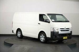 2015 Toyota HiAce KDH201R MY14 LWB White 4 Speed Automatic Van