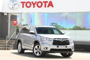 2015 Toyota Kluger GSU55R Grande (4x4) Silver Sky 6 Speed Automatic Wagon Old Guildford Fairfield Area Preview