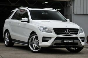 2015 Mercedes-Benz ML 166 MY14 250 CDI Bluetec (4x4) White 7 Speed Automatic Wagon Mosman Mosman Area Preview