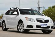 2014 Holden Cruze JH Series II MY14 CD Sportwagon Olympic White 6 Speed Sports Automatic Wagon Victoria Park Victoria Park Area Preview