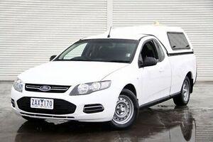 2012 Ford Falcon FG MkII EcoLPi Ute Super Cab White 6 Speed Sports Automatic Utility Frankston Frankston Area Preview