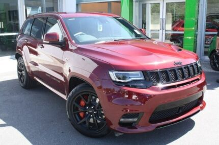 2017 Jeep Grand Cherokee WK MY18 SRT Red 8 Speed Sports Automatic Wagon