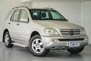 2004 Mercedes-Benz ML270 CDI W163 MY04 Luxury Silver 5 Speed Sports Automatic Wagon Bellevue Swan Area Preview