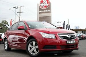 2010 Holden Cruze JG CD Velvet Red 6 Speed Sports Automatic Sedan Liverpool Liverpool Area Preview