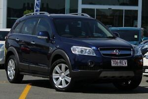 2010 Holden Captiva CG MY10 LX AWD Blue 5 Speed Sports Automatic Wagon Wavell Heights Brisbane North East Preview