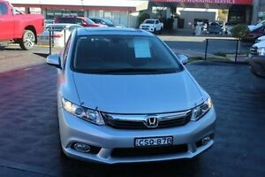 2013 Honda Civic 9th Gen Ser II MY13 Sport Silver Sports Automatic Sedan South Maitland Maitland Area Preview