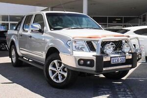 2013 Nissan Navara D40 S5 MY12 ST-X 550 Silver 7 Speed Sports Automatic Utility Osborne Park Stirling Area Preview