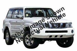 2012 Nissan Patrol GU 7 MY10 ST Silver 5 Speed Manual Wagon